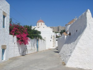 Small alley in Chora