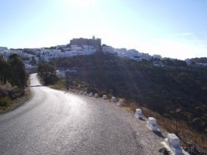 Chora from road view