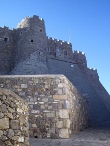 Monastery wall